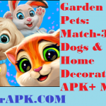 Download Garden Pets: Match-3 Dogs & Cats Home Decorate MOD APK