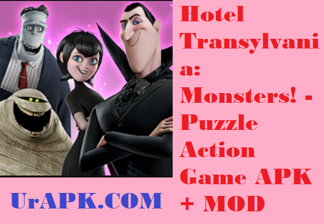 Hotel Transylvania: Monsters! - Puzzle Action Game MOD APK