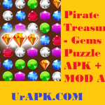 Pirate Treasures - Gems Puzzle MOD APK