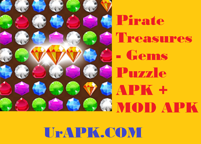 Pirate Treasures - Gems Puzzle APK
