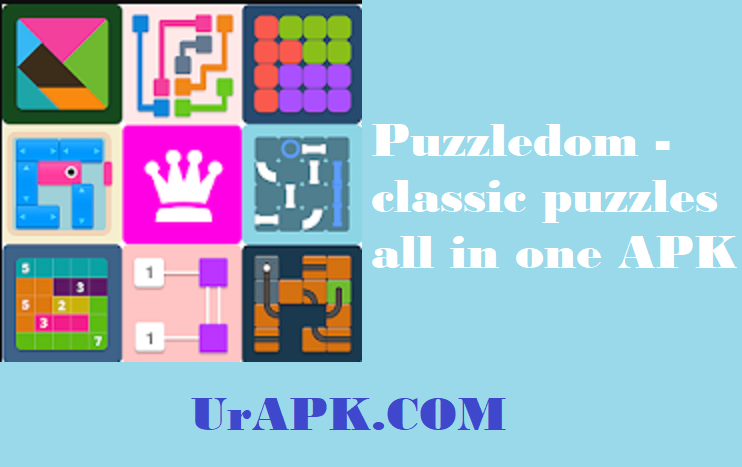 Puzzledom - classic puzzles all in one MOD APK