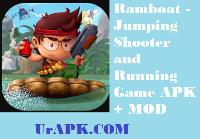 Ramboat - Jumping Shooter and Running Game MOD APK