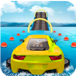 Download Water Surfing Car Stunts MOD APK