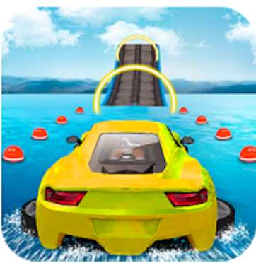 Water Surfing Car Stunts MOD APK