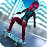 Skateboard Girls vs Boys APK + MOD